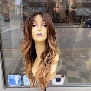 Beautiful Ombre Swisslace Lacefront wig waves